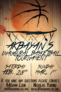Akbayan Basketball Tournament Flyer