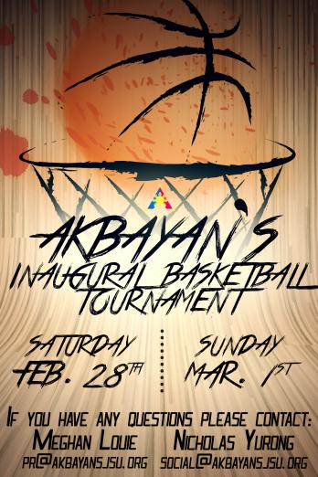 Akbayan Basketball Tournament Flyer